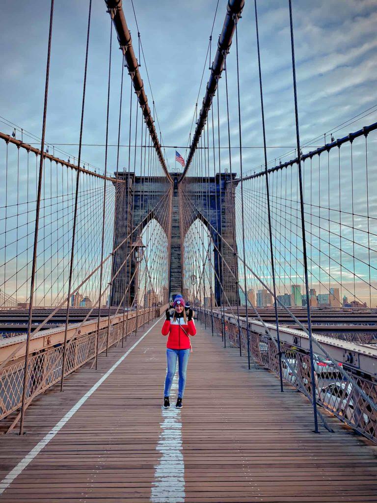 Brookyln Bridge als Instaspot
