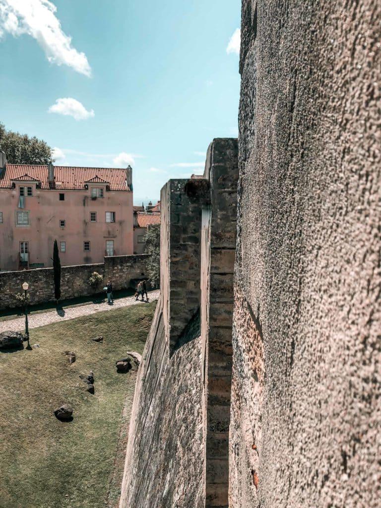 Burg Castelo de Sao Jorge (Sehenswürdigkeit in Lissabon)