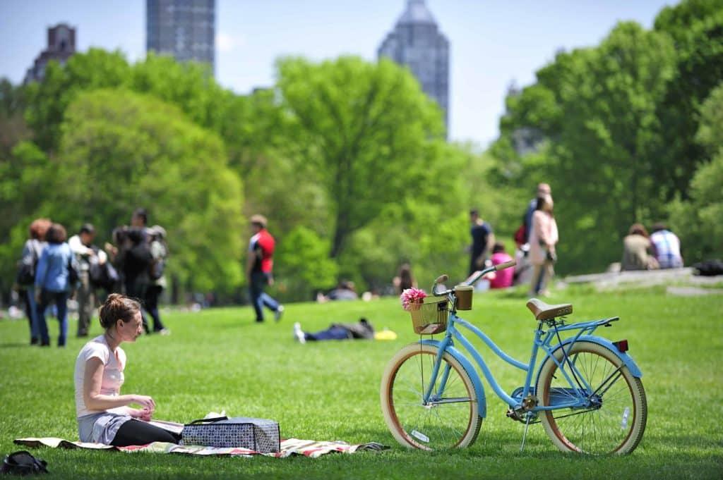 Fahrrad fahren im Central Park