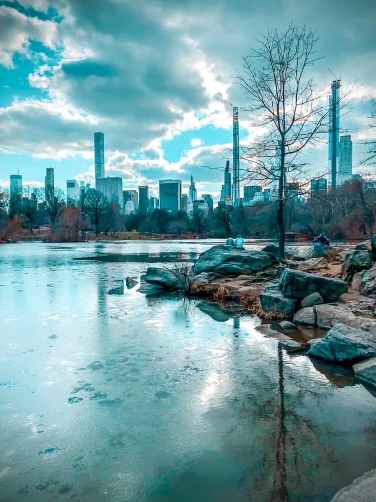Central Park Teich 1