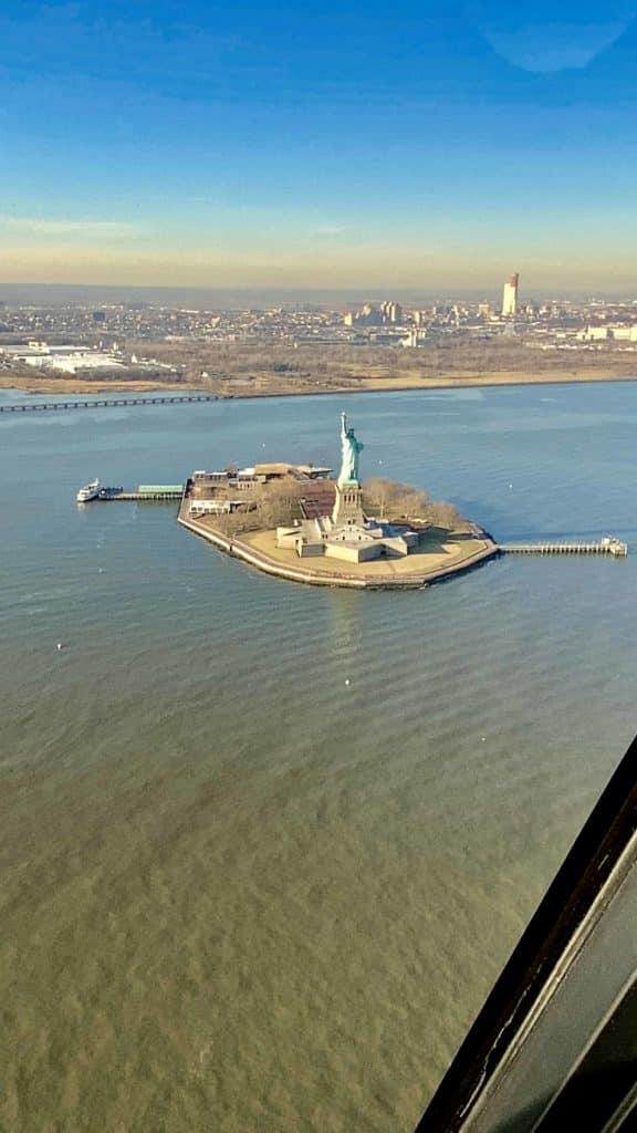 Statue of Liberty von oben