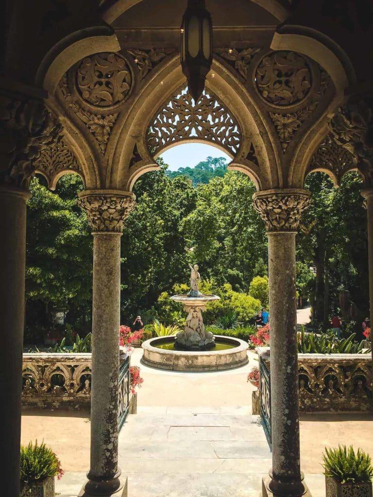 Der Brunnen des Palácio de Monserrate