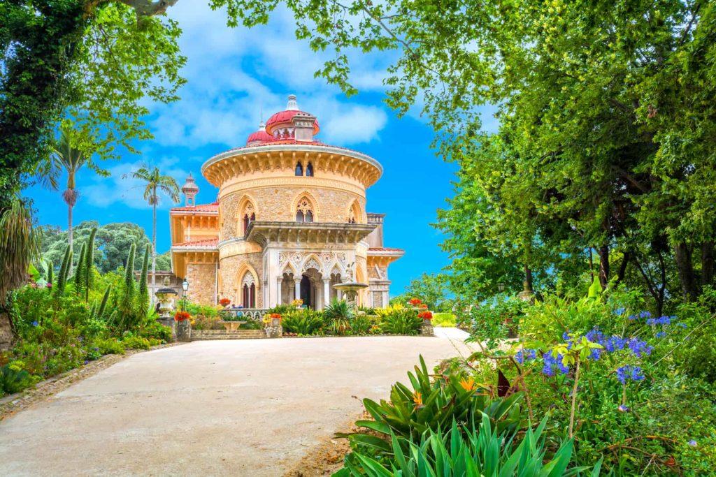 """Der """"Palácio de Monserrate"""" in Sintra ist eine wunderschöne Sehenswürdigkeit"""