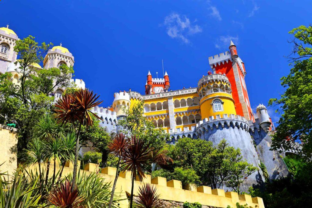 Der Pena Palast ist eine wahre Tourismusattraktion