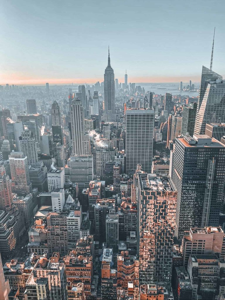 Die sehenswerte Aussicht vom Rockefeller Center