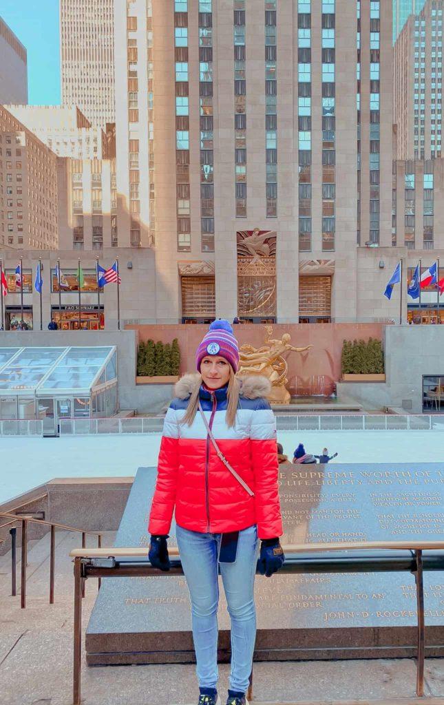 Rockefeller Center Kim