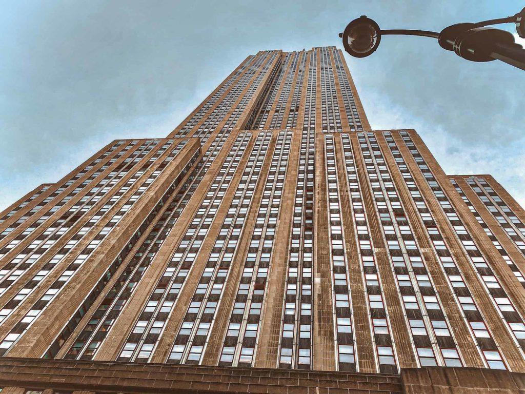 Rockefeller Center von ganz unten