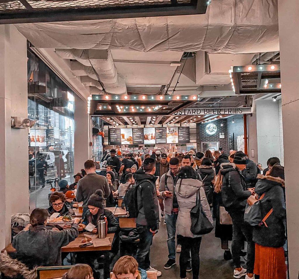 Burger Restaurant Shake Shack in Manhattan