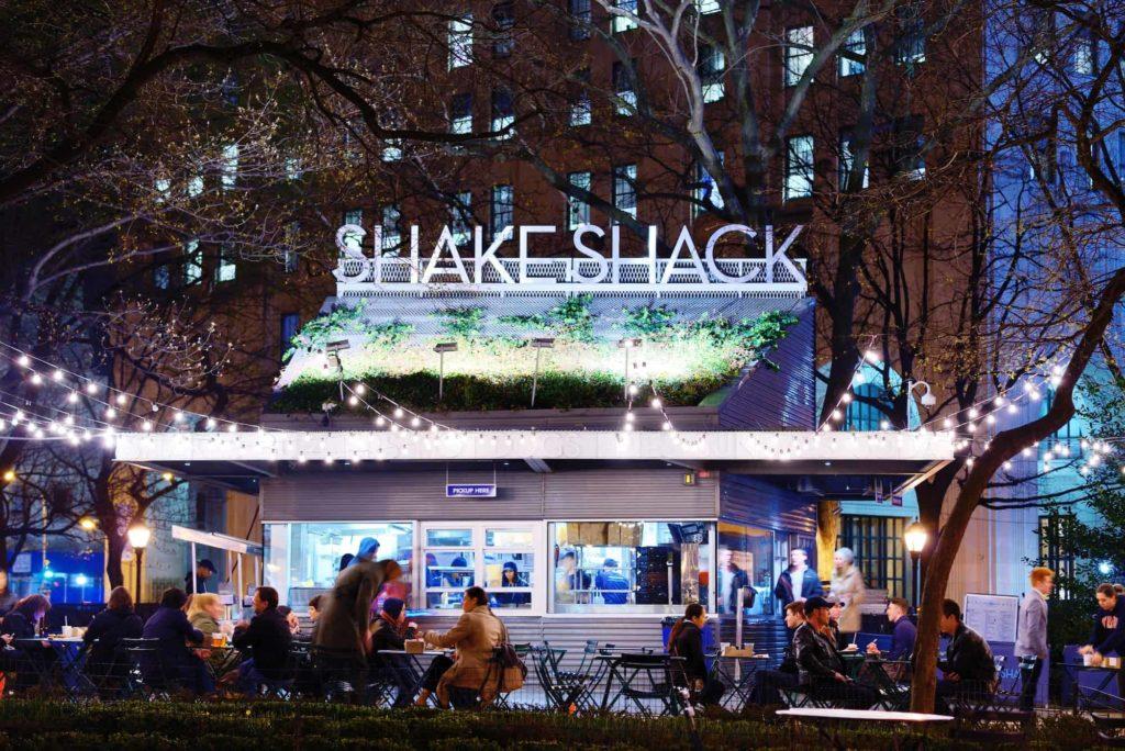 Shake Shack ist ein beliebtes Burger Restaurant