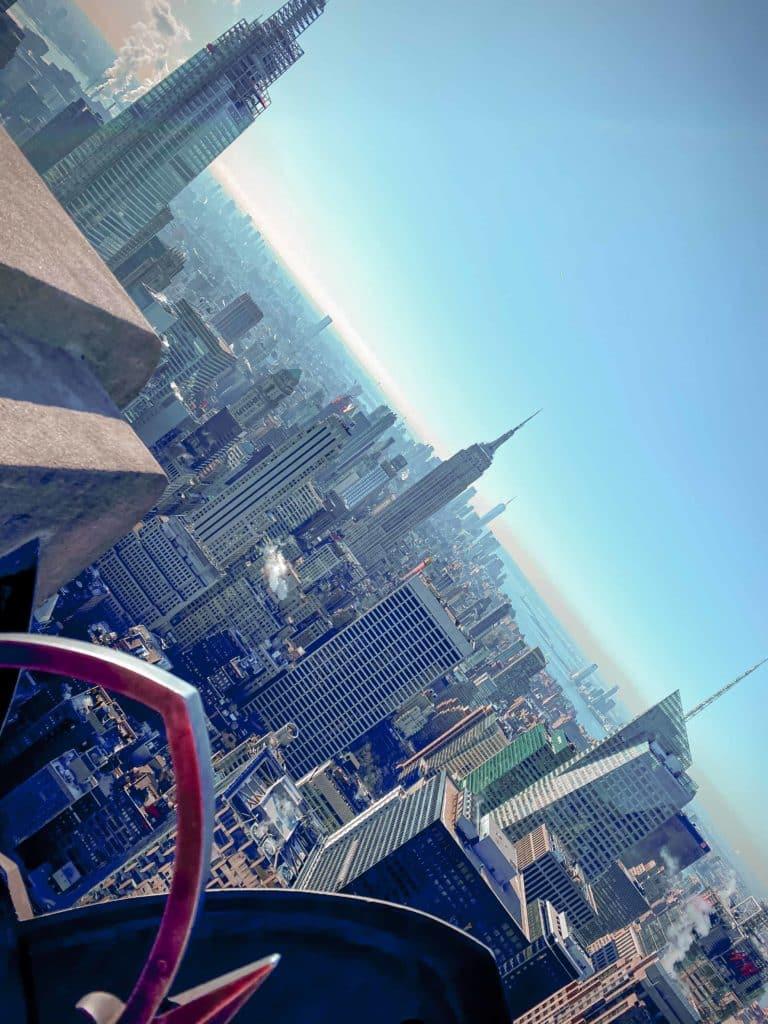 Sicht vom Comcast Building (Rockefeller Center)