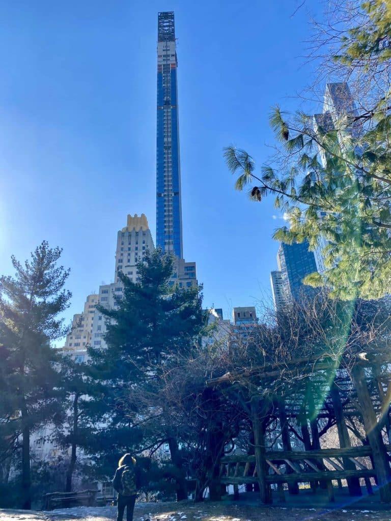 Skyline vom Central Park