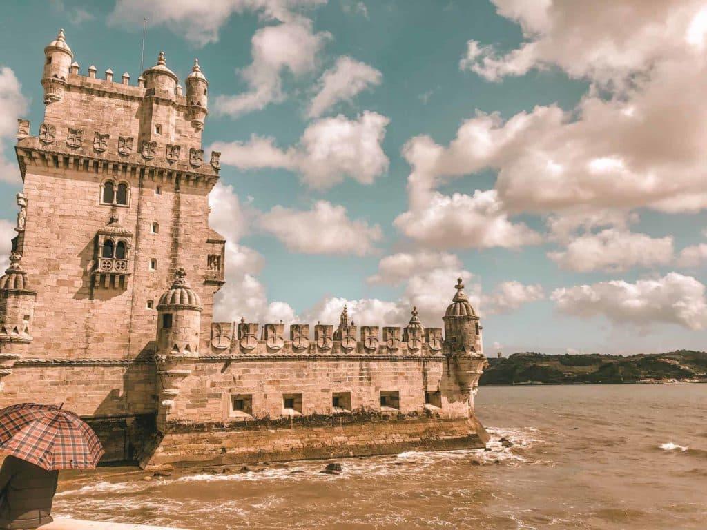ehenswerter Turm in Lissabon (Turm von Belem)