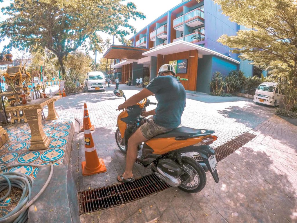 Bangkok Roller mieten und fahren