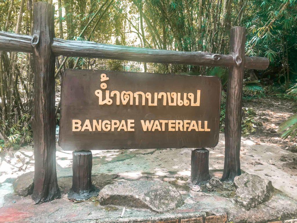 Bangpae Wasserfall Thailand