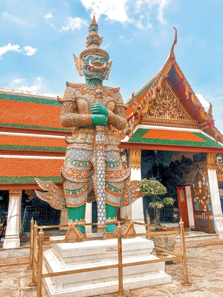 Bild vom Königspalast in Bangkok
