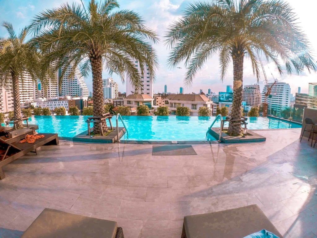 Infinity Pool Hotel in Bangkok