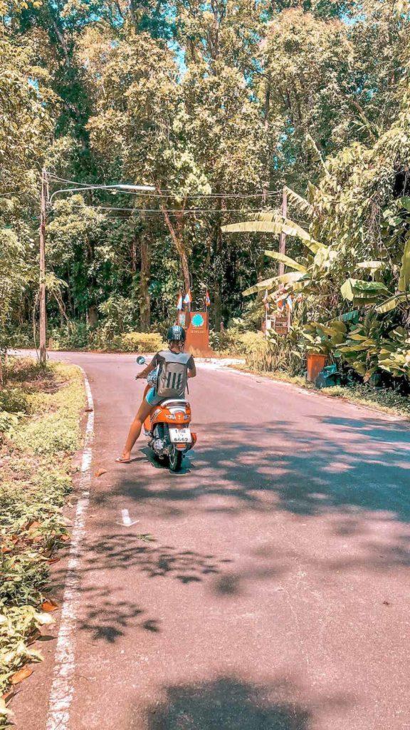 Roller fahren in Thailand macht viel Spaß