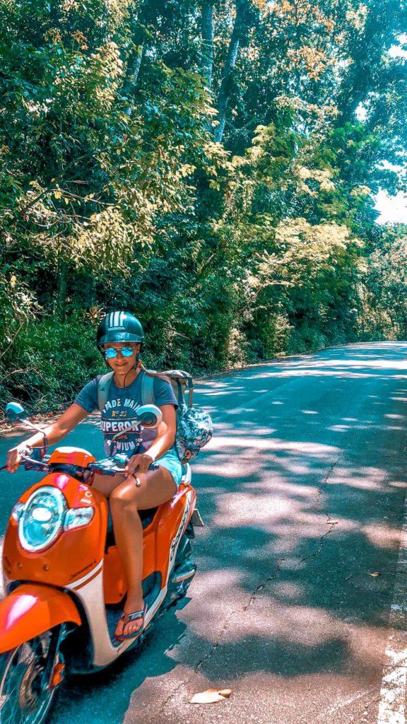 Rollerfahren in Thailand macht Spaß