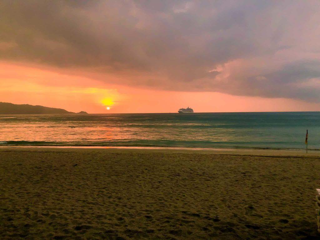 Sonnenuntergang Thailand Beach