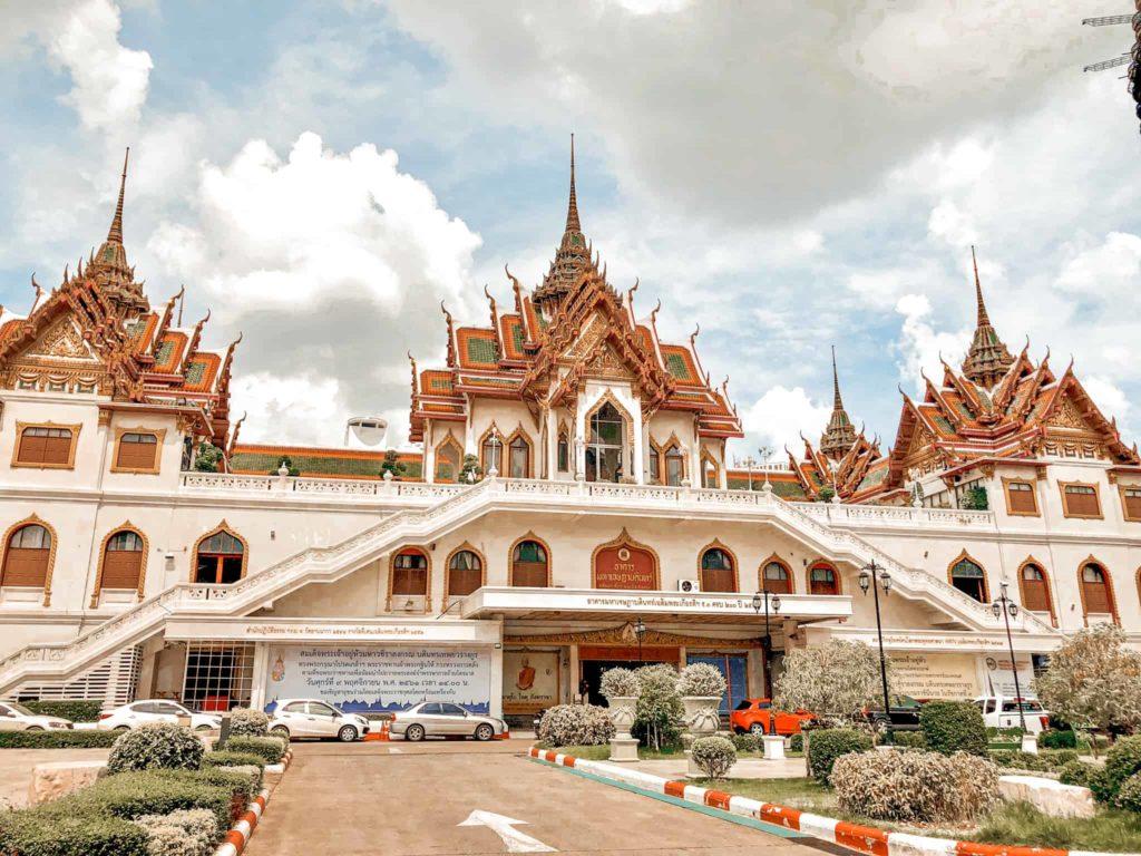 In Bangkok gibt es mehrere Tempel