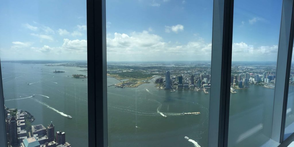 View from One World Observatory SE