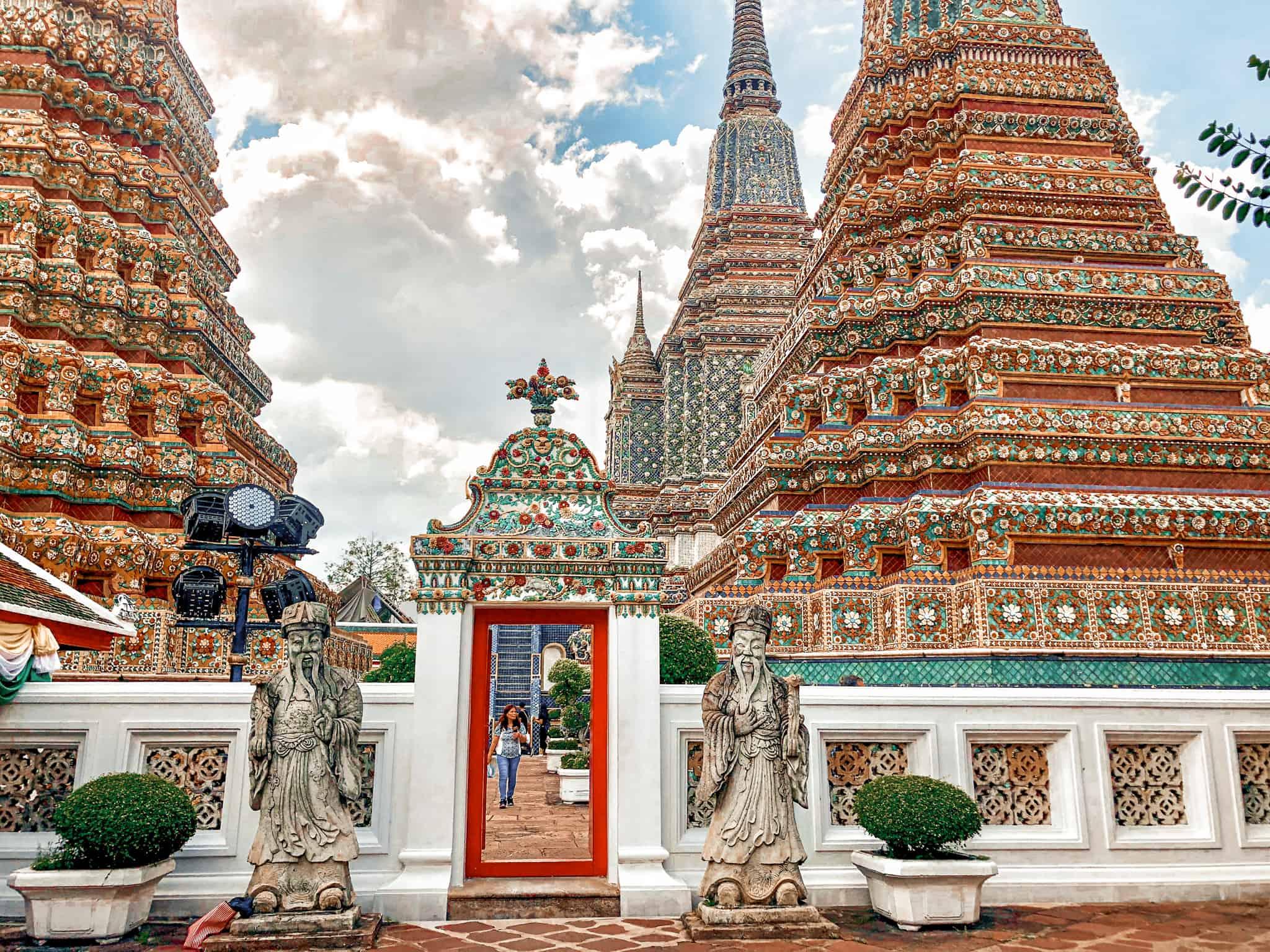 Wat Pho Tempel Fotomotiv von Bangkok