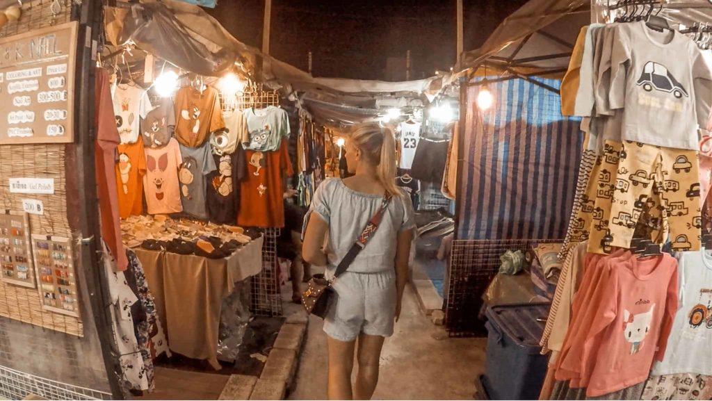 Bangkok nächtlicher Markt