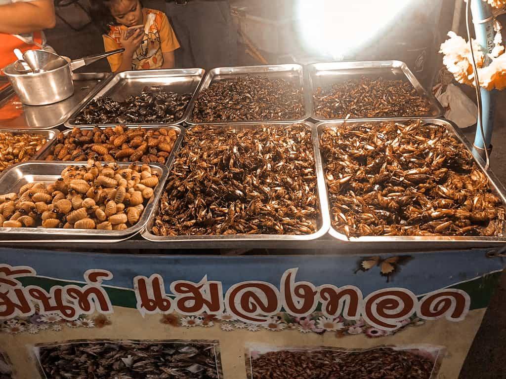 Chinatown in Bangkok Essensstand