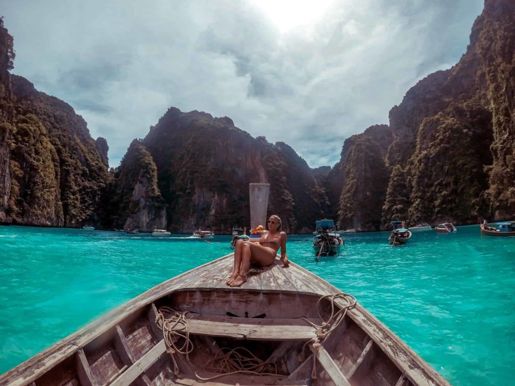 Die Bucht vor Ko Phi Phi - Instagram Spots