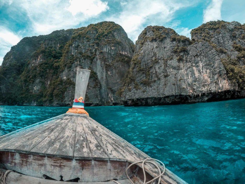 Long Tail Boot vor Ko Phi Phi