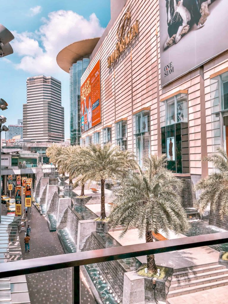 Der Siam Square in der thailändischen Hauptstadt