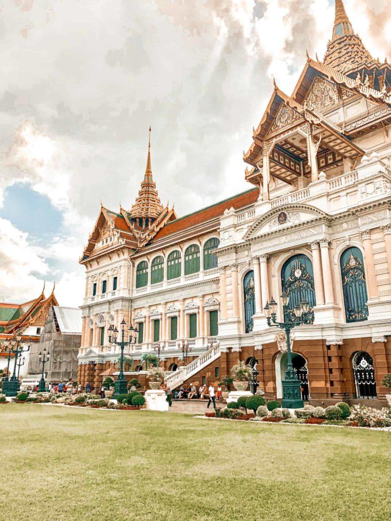 Der Palast des Königs in Bangkok
