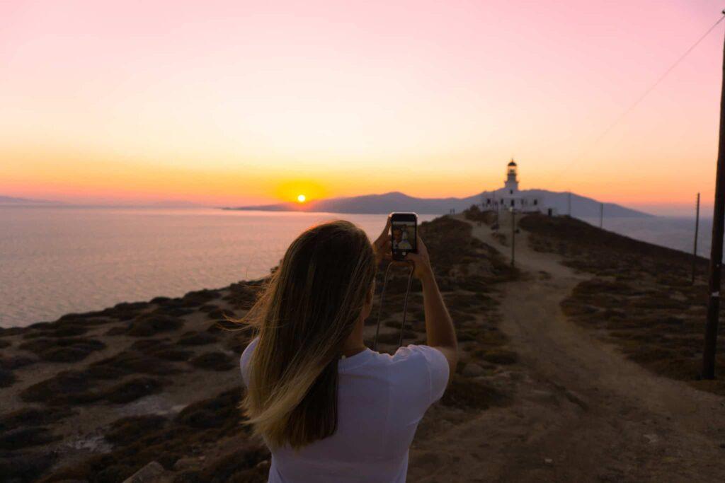 Insta-Spot Armenistis Lighthouse