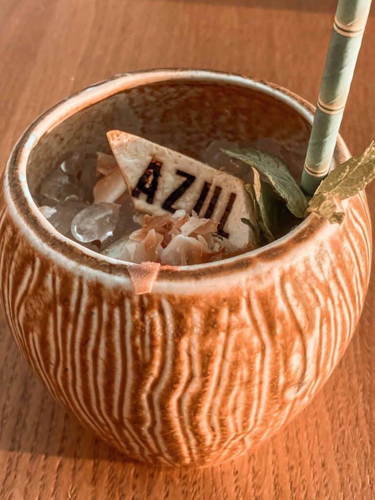 Cocktail in Azul Condesa