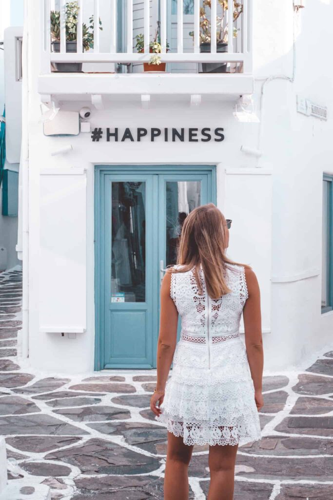 #Happiness Shop in Mykonos
