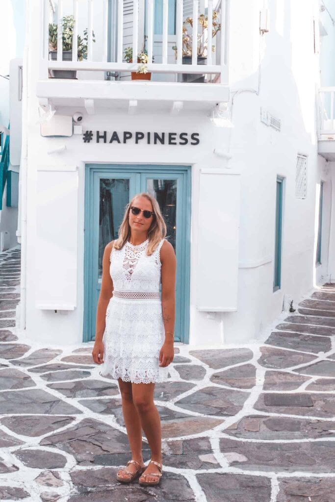 Happiness Store in Mykonos City