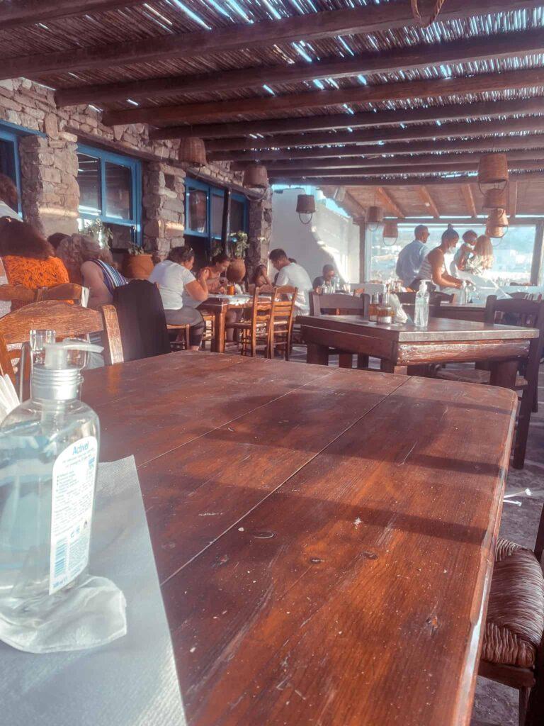 Strand Restaurant Mykonos