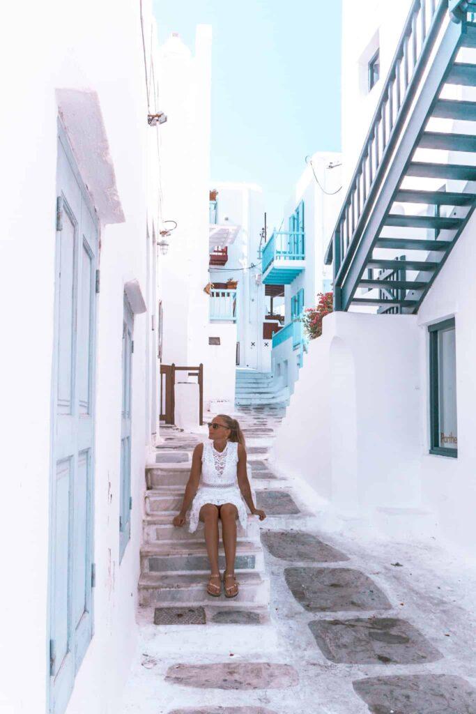 Innenstadt Mykonos