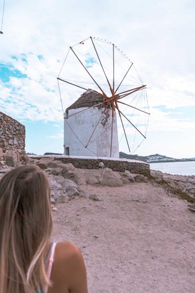 Windmühlen Kato Milli Mykonos