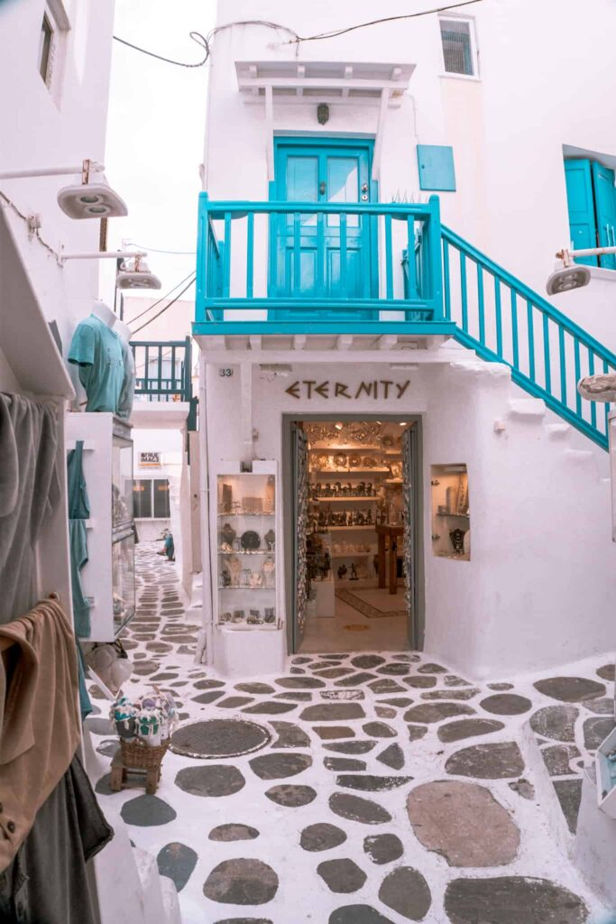 eternity store Mykonos Innenstadt