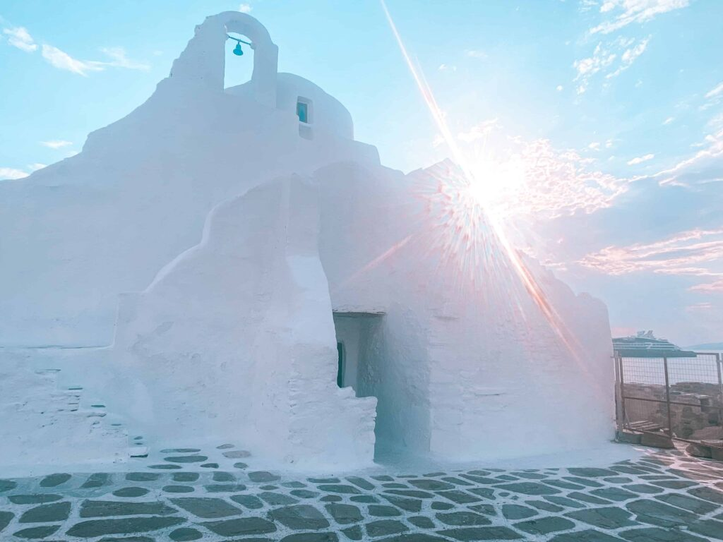 Kirche Mykonos
