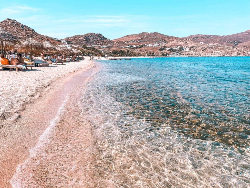 Kalafati Beach Mykonos Griechenland
