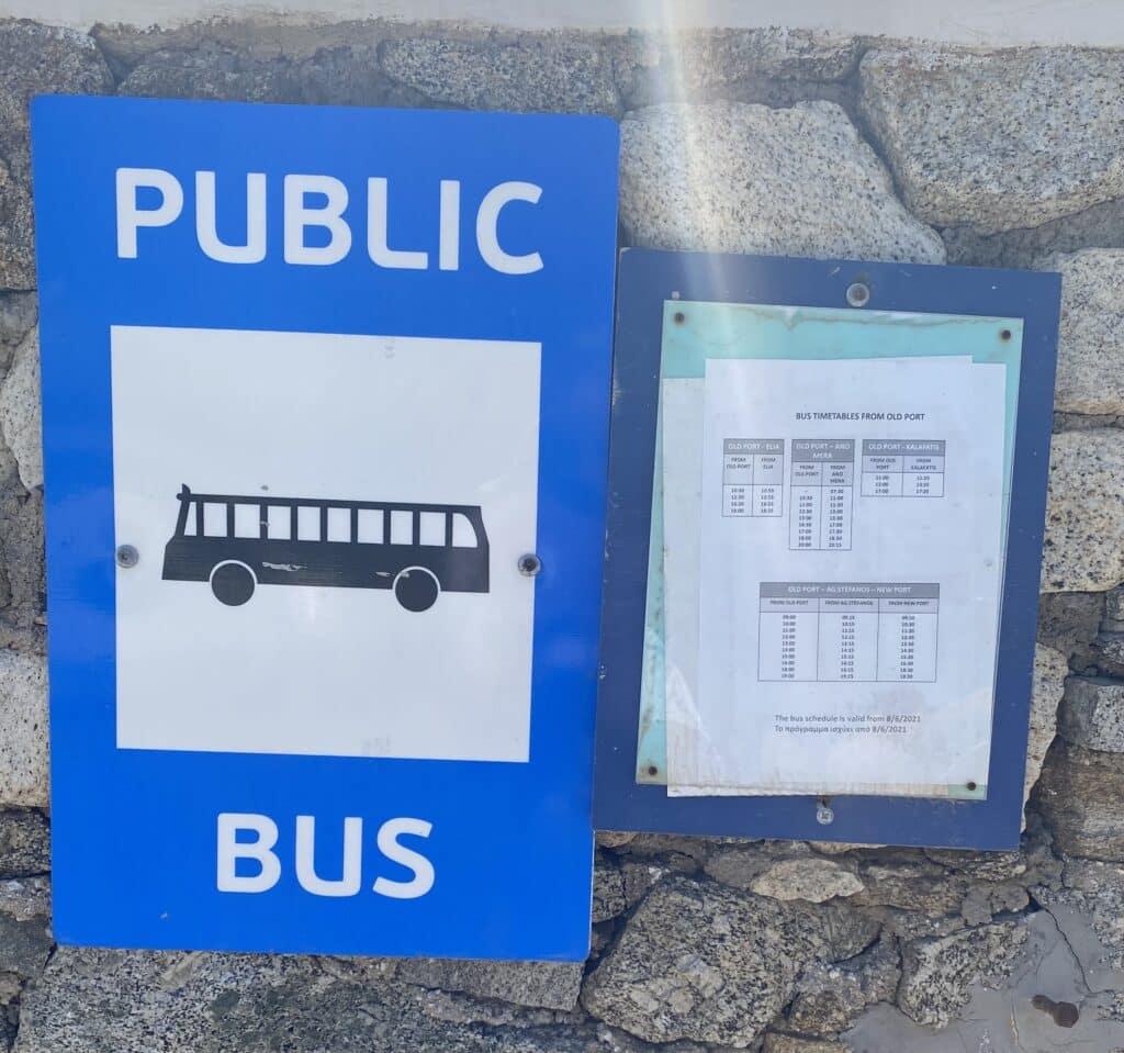 busverbindung mykonos